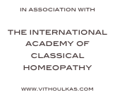 in association with   the international academy of classical homeopathy  www.vithoulkas.com